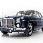 Rover Coupe blauw-