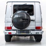 Mercedes G500 grijs-