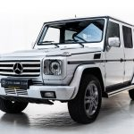 Mercedes G500 grijs--2