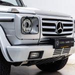 Mercedes G500 grijs-3368