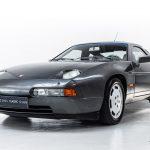 Porsche 928 grijs-