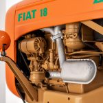 Fiat 18 tractor oranje-4891