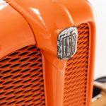 Fiat 18 tractor oranje-4893