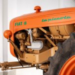 Fiat 18 tractor oranje-4896