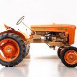 Fiat 18 tractor oranje-4906