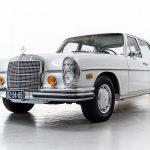 Mercedes 280 SEL grijs-