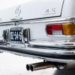 Mercedes 280 SEL grijs-4970
