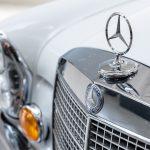 Mercedes 280 SEL grijs-4979