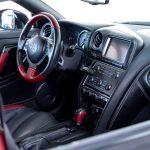 Nissan GTR zwart-7201