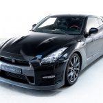 Nissan GTR zwart-7231
