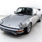 Porsche 930 Turbo zilvergrijs-4809