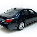 BMW 550i blauw--2