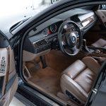 BMW 550i blauw-8147
