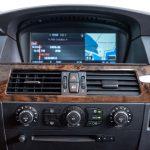 BMW 550i blauw-8161