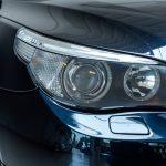 BMW 550i blauw-8173