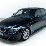 BMW 550i blauw-8175