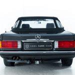 Mercedes SL cabrio grijs-8305