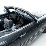 Mercedes SL cabrio grijs-8308
