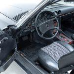 Mercedes SL cabrio grijs-8310