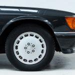 Mercedes SL cabrio grijs-8321