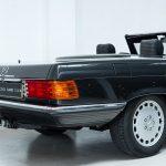Mercedes SL cabrio grijs-8323