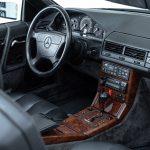 Mercedes SL600 zilver-8420