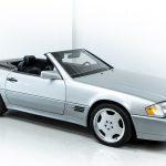 Mercedes SL600 zilver-8436