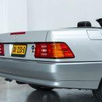 Mercedes SL600 zilver-8438