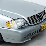 Mercedes SL600 zilver-8440