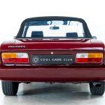 Peugeot cabrio rood-8223