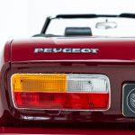 Peugeot cabrio rood-8228
