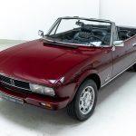 Peugeot cabrio rood-8255