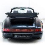 Porsche 993 Carrera 2 cabrio zwart-9577