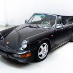 Porsche 993 Carrera 2 cabrio zwart-9601