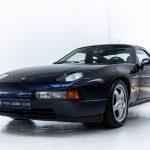 Porsche 928 GTS blauw-