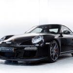 Porsche 997 GT3 zwart-