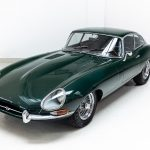Jaguar E-Type groen--2