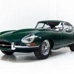 Jaguar E-Type groen--4