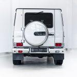 Mercedes G500 zilver-