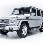 Mercedes G500 zilver--2