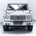 Mercedes G500 zilver--3