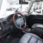 Mercedes G500 zilver-4745