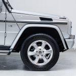Mercedes G500 zilver-4782