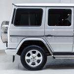 Mercedes G500 zilver-4785