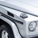 Mercedes G500 zilver-4811