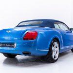 Bentley Continental cabrio blauw-4083