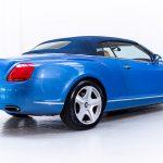 Bentley Continental cabrio blauw-4084