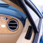 Bentley Continental cabrio blauw-4088