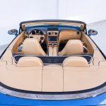 Bentley Continental cabrio blauw-4094
