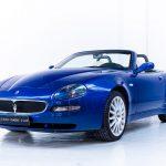 Maserati 4200GT cabrio blauw-
